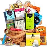 Tea & Cookies Gift Basket Classic