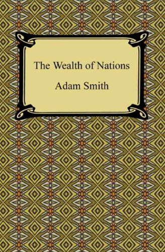 an assessment of the book the wealth of nations by adam smith Adam smith award adam smith was a 18 th century philosopher and writer of: the wealth of nations, the first book on modern economics an adam smith award is a globally recognised endorsement of the hard work and achievements.