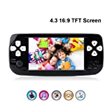 Rongyuxuan Handheld Game Console Portable Video Game 4.3