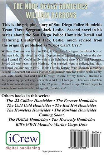 The Nude Beach Homicides: Book 1 of the San Diego Police Homicide Detail featuring Jack Leslie: Volume 2
