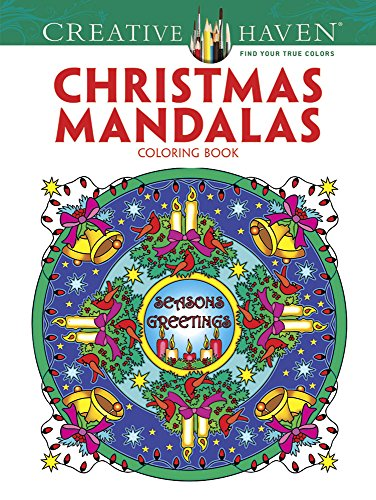 Creative Haven Christmas Mandalas Coloring Book ( Coloring Books)