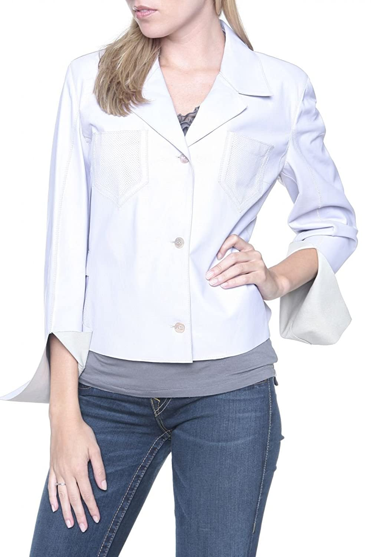 Cristiano di Thiene Damen Jacke Lederjacke , Farbe: Flieder jetzt bestellen
