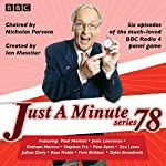 Just a Minute: Series 78: BBC Radio 4 comedy panel game |  BBC Radio Comedy