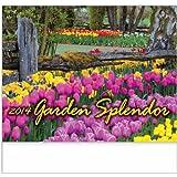 Garden Splendor Stapled Appointment Calendar Trade Show Giveaway