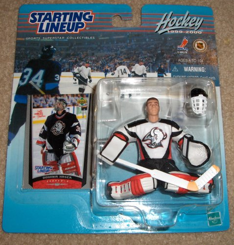 1999 Dominik Hasek NHL Starting Lineup Figure - 1