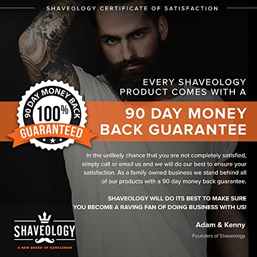 Best Double Edge Safety Razor Kit by Shaveology - Engineered to Deliver the Best Shave of Your Life Guaranteed! - Hands Down the Best Safety Razor on Amazon for the Price. Best Mens Gift!