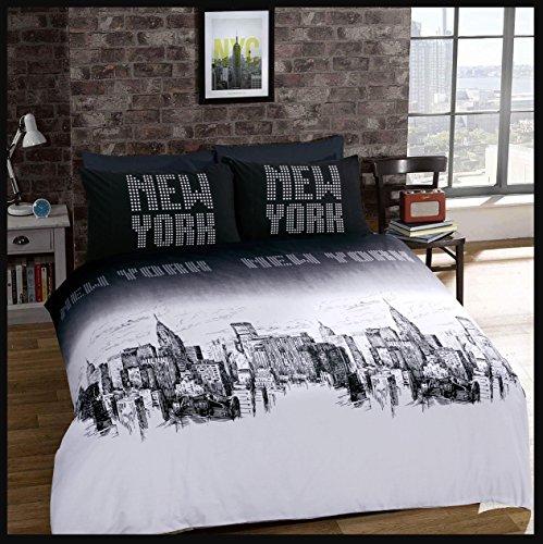 Adam-Bettwsche-Luxus-Bettwsche-Set-mit-Kopfkissenbezgen-Newyork-Doppelbett