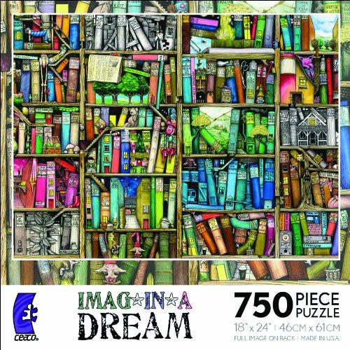 Ceaco Imag*In*A*Dream-Bookshelf