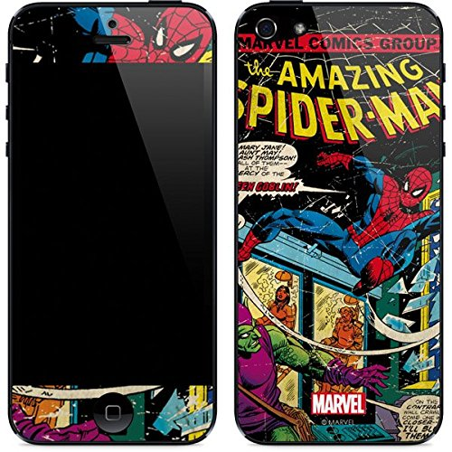 Marvel Comics iPhone 5&5s Skin - Marvel Comics Spiderman Vinyl Decal Skin For Your iPhone 5&5s (Iphone 5 Marvel Decal compare prices)