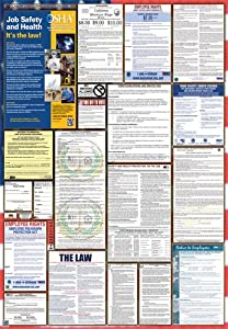 California / Federal Combination Labor Law Posters (2015)