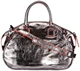 Liebeskind Berlin Sandy metallic leather, Damen Henkeltasche
