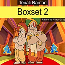 Tenali Raman Box Set, Volume 2 Audiobook by Rahul Garg Narrated by John Howks