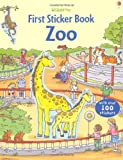 First Sticker Zoo (Usborne First Sticker Books) Sam Taplin