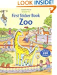 First Sticker Zoo (Usborne First Stic...