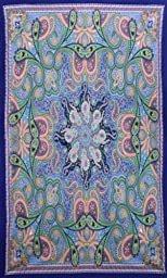 Sunshine Joy 3D Infinity Star Paisley Tapestry Tablecloth Beach Sheet Wall Art Huge 60x90 Inches - Classic