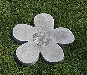 Flower power stepping stone color alpine for Large outdoor decorative rocks