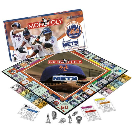 BSS - New York Mets 2008 Collector's Edition Monopoly at Amazon.com