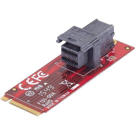 Convertisseur d'interface 28554C215 [1x M.2 NGFF - 1x U.2 SSD]
