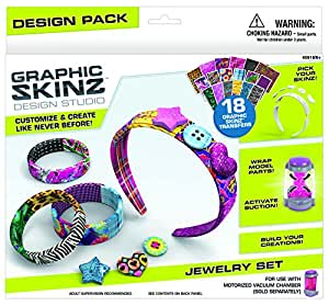 roseart graphic skinz design set jewelry set