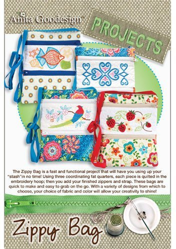 Anita Goodesign Embroidery Machine Designs Cd Zippy Bag front-178326
