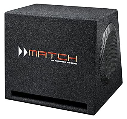 MATCH parleur bass reflex fixation sur écran pP10E-d