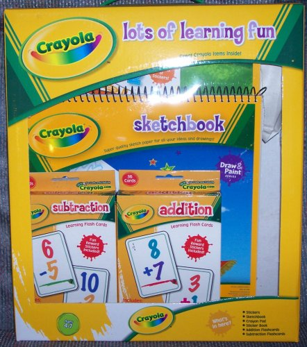 American Princess Backpack w/Crayola Lots of Learning Fun (Math)