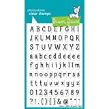 Lawn Fawn Clear Stamps - Claire's ABCs (LF381) (Color: Claire's Abcs)