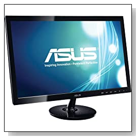 Asus VS247H-P 23.6-Inch Full-HD LED-Lit LCD Monitor Review
