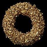 Exotic Creations Hot Cinnamon - Dried flower wreath(Metallic,L=40 cm X W=40 cm X D= 40 cm)