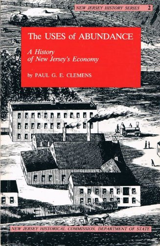 The Uses of Abundance: A History of New Jersey's Economy (New Jersey History, 2)
