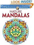 Creative Haven Nature Mandalas Coloring Book (Creative Haven Coloring Books)