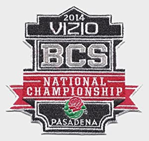 2014 Vizio BCS National Championship Game in Pasadena Jersey Patch