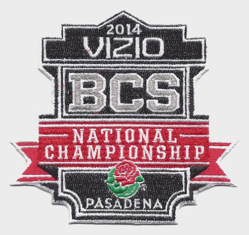 2014 Vizio BCS National Championship Bowl Game in Pasadena Jersey Patch (Florida State Seminoles vs. Auburn Tigers) at Amazon.com