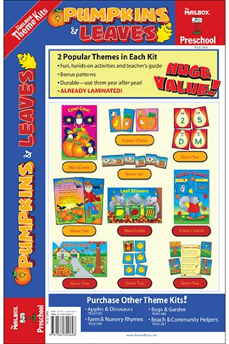 Theme Kit: Pumpkins & Leaves (Preschool)
