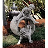 Childhood Memories Home Garden Statue Sculpture Figurine