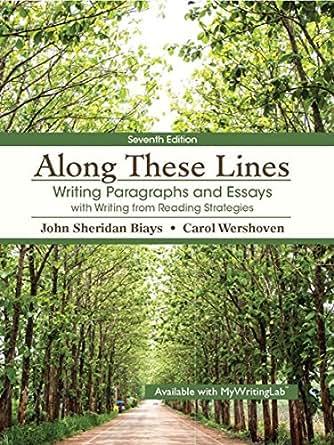 bol.com | Along These Lines: Writing Sentences and Paragraphs, John ...
