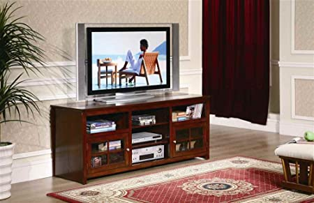 Benton 62 in. TV Stand in Walnut Finish