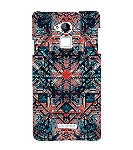 Abstract Painting 3D Hard Polycarbonate Designer Back Case Cover for Coolpad Note 3