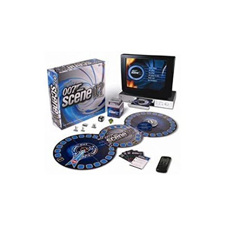 Scene It James Bond 007 - Jeu avec DVD