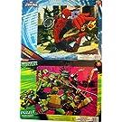 Marvel Ultimate Spiderman and Teenage Mutant Ninja Turtles 16 Piece Puzzles with Borders (Set of 2 Puzzles)