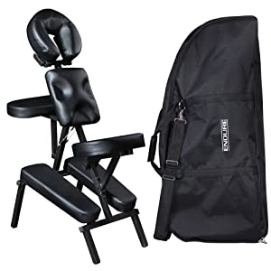 Salon Spa Portable Massage Chair MC-50BLK