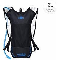 Vbiger Hydration Backpack with 3L Bladder Water Bag