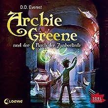Archie Greene und der Fluch der Zaubertinte Hörbuch von D. D. Everest Gesprochen von: Peter Kaempfe