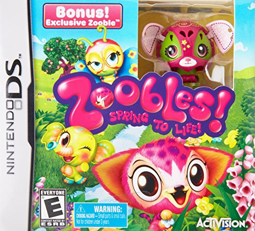 Zoobles with Toy - Nintendo DS - 1