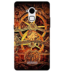 Chiraiyaa Designer Printed Premium Back Cover Case for Coolpad Note 3 (machinery graphic) (Multicolor)