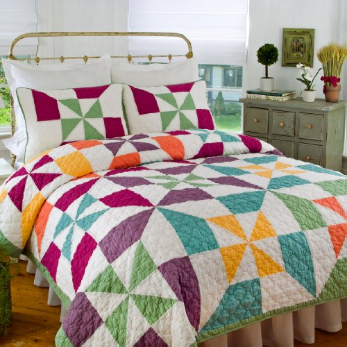 Nicole S Pinwheel Quilt King Quilts