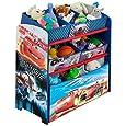 Disney Pixar Cars Multi-Bin Toy Organizer