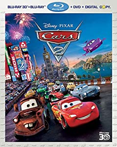 Cars 2 (Five-Disc Combo: Blu-ray 3D / Blu-ray / DVD / Digital Copy) by Disney/Pixar