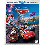 Cars 2 (Five-Disc Combo: Blu-ray 3D / Blu-ray / DVD / Digital Copy) ~ Directed By John Lasseter