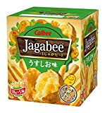 カルビー Jagabeeうす塩味 90g×12個